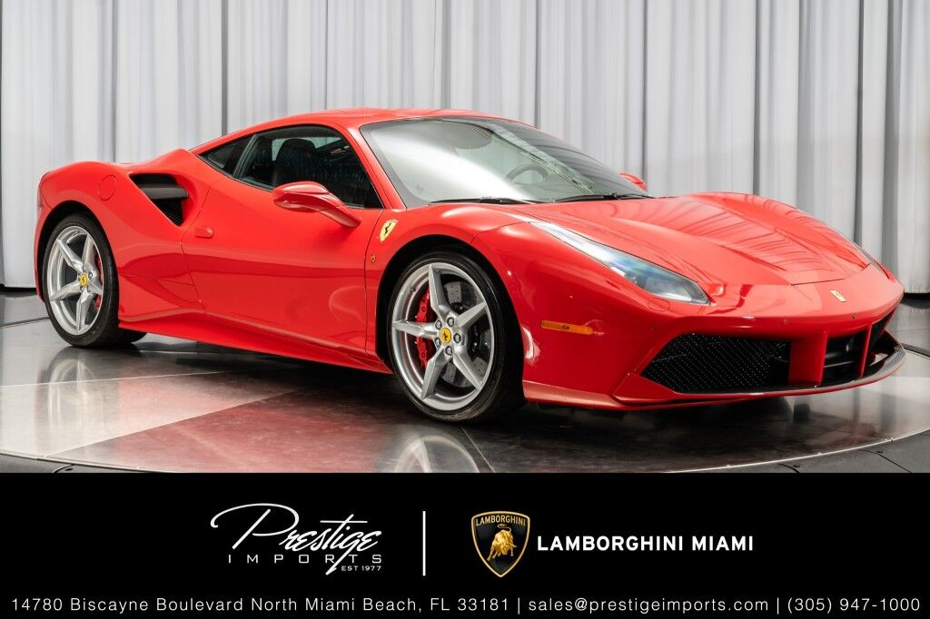 2018 Ferrari 488 GTB North Miami Beach FL
