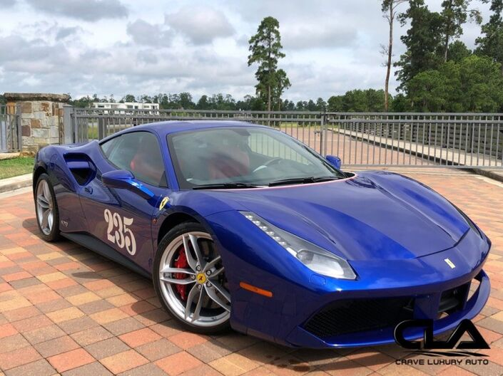 2018 Ferrari 488 GTB  The Woodlands TX