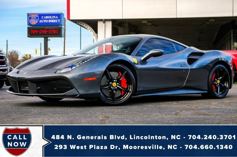 2018 Ferrari 488 GTB *Turbo V8* w/ NAV (Video in Photos) Mooresville NC