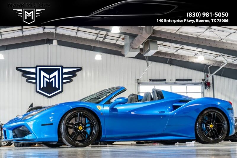 2018_Ferrari_488 Spider_- BLU CORSA_ Boerne TX