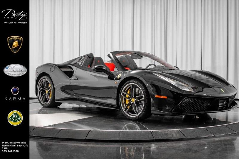 2018_Ferrari_488 Spider__ North Miami Beach FL
