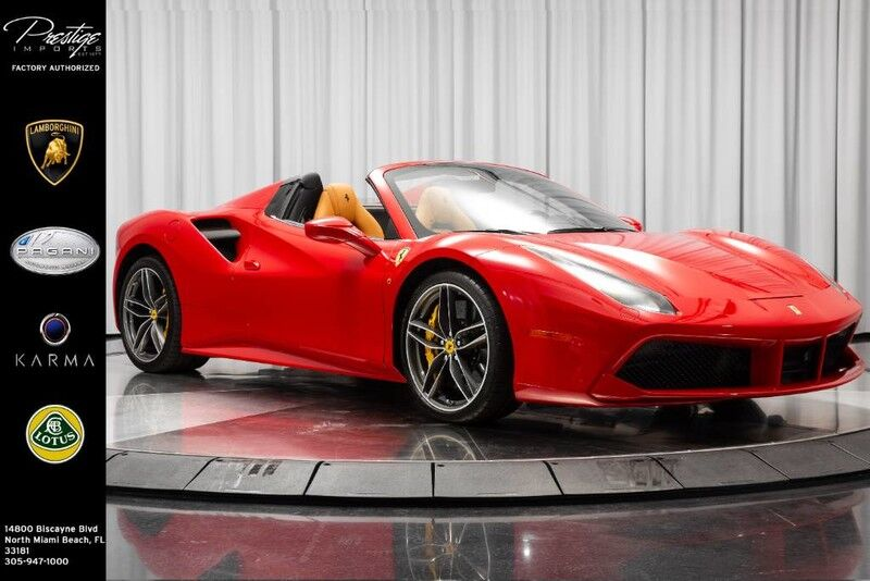 2018_Ferrari_488 Spider__ North Miami FL