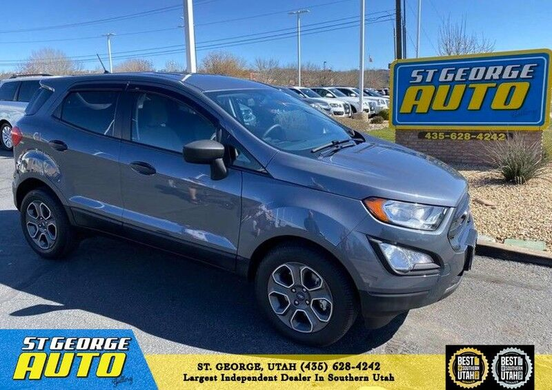 2018 Ford EcoSport S St George UT