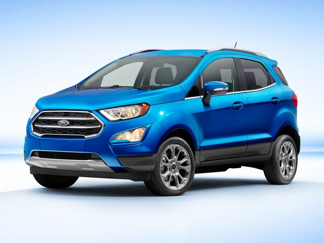 2018_Ford_EcoSport_S_ West Valley City UT