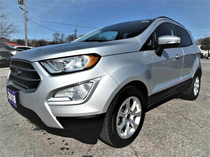 2018 Ford EcoSport SE | Heated Seats | Navigation | Sunroof Essex ON