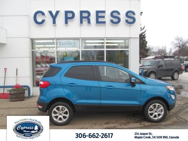 2018 Ford EcoSport SE, Cold Weather Pkg., Remote Start, 16 Shadow Silver-Painted Aluminum Wheels