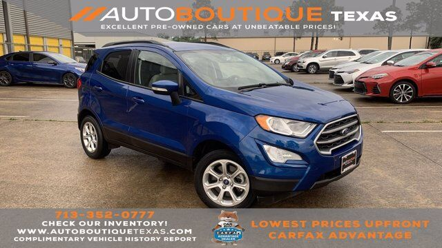 2018 Ford EcoSport SE Houston TX