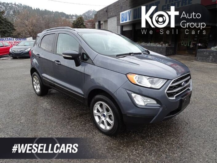 2018 Ford EcoSport SE, Navigation, Heated Seats and Steering Wheel, Back-up Camera, Sunroof Kelowna BC