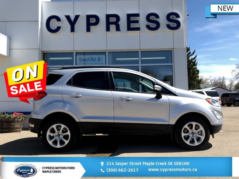2018 Ford EcoSport SE, Navigation With 8 Touchscreen, Auto. Climate Control  - $188 B/W Maple Creek SK