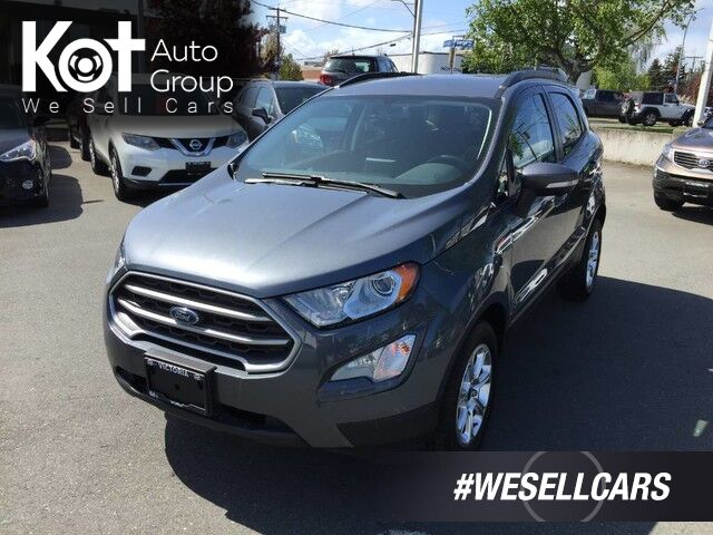 2018 Ford EcoSport SE! SAVE GAS! GREAT FOR VICTORIA LIFESTYLE! Penticton BC