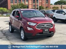 2018 Ford EcoSport SE South Burlington VT