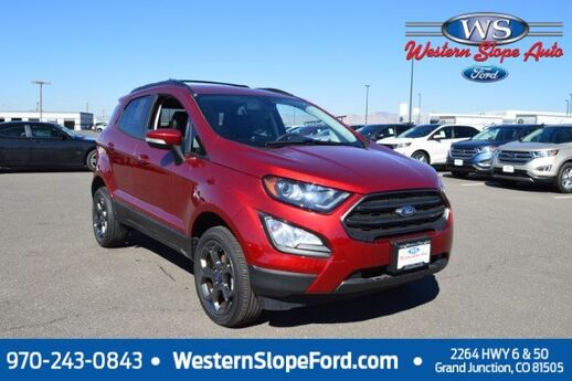 2018 Ford EcoSport SES Grand Junction CO