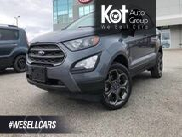 Ford EcoSport SES, Heated seats, Back-Up Camera, Navigation. 2018