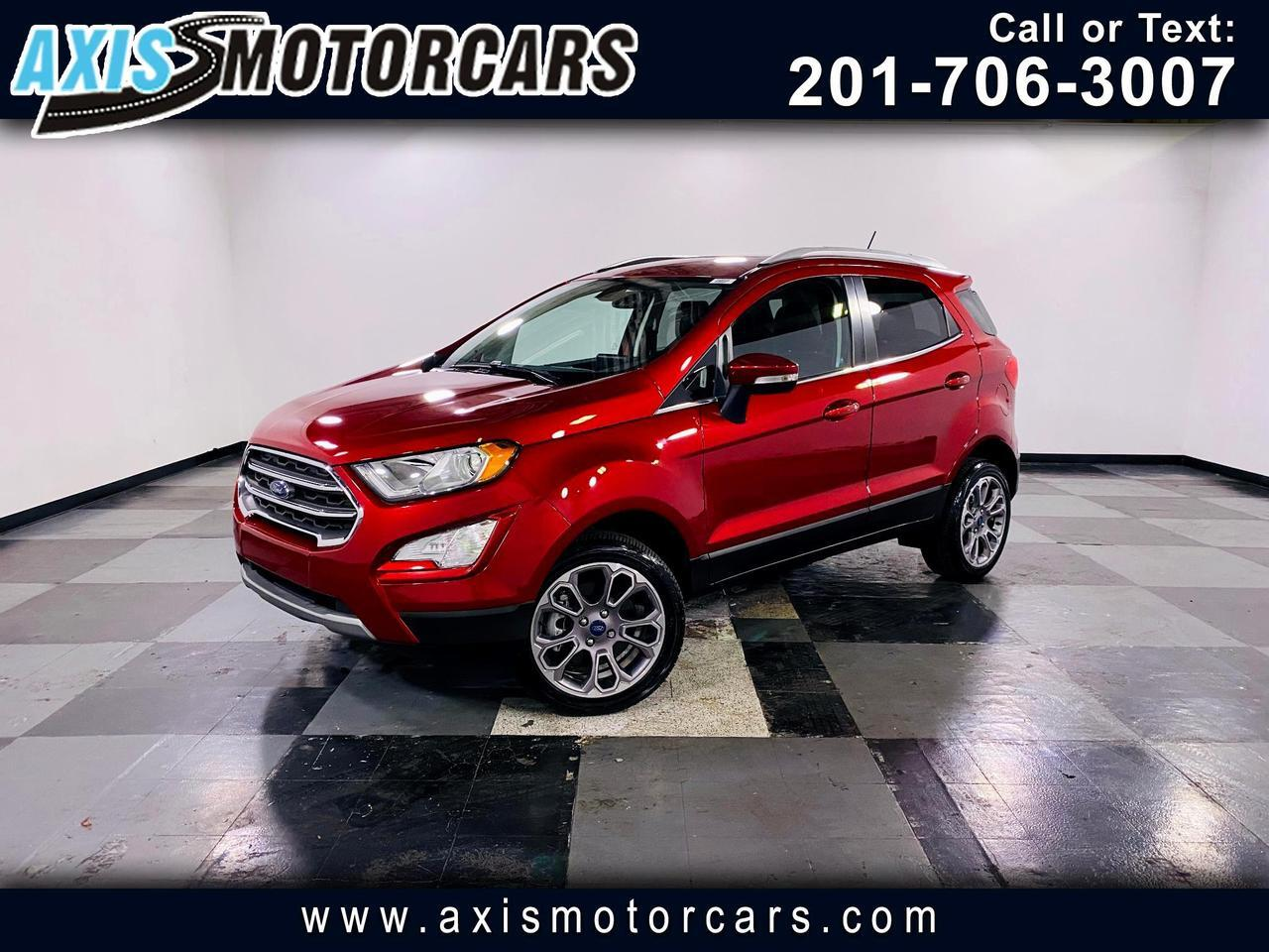 2018 Ford EcoSport Titanium 4WD w/Backup Camera Navigation Sun Roof Jersey City NJ