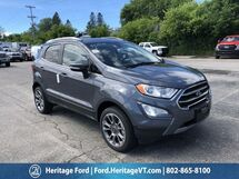 2018 Ford EcoSport Titanium South Burlington VT