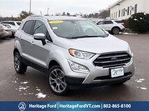 2018 Ford EcoSport Titanium South Burlington VT