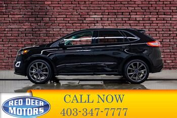 2018_Ford_Edge_AWD Sport Leather Roof Nav BCam_ Red Deer AB