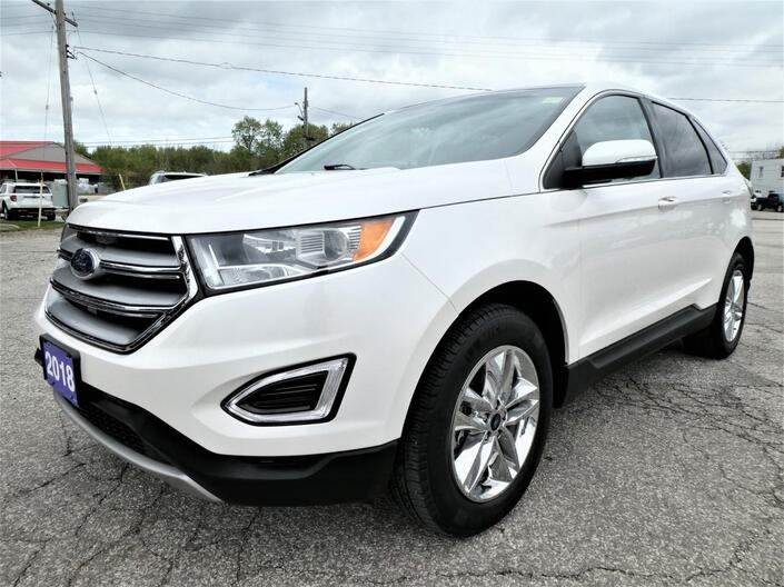 2018 Ford Edge SEL | Navigation | Panoramic Roof | Remote Start Essex ON