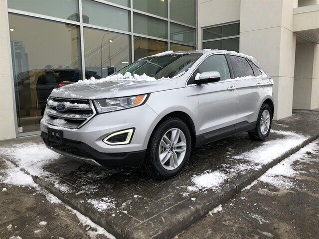 2018 Ford Edge SEL Heated leather seats Perfect commuter Calgary AB