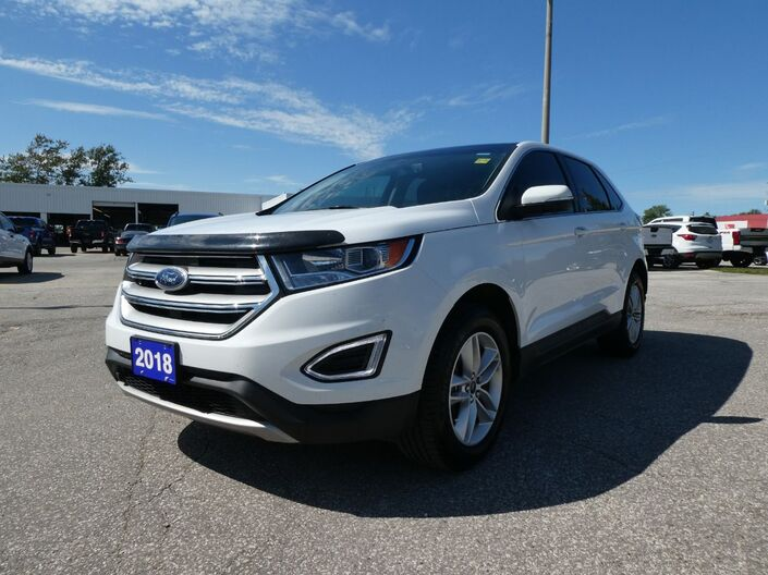 2018 Ford Edge SEL Navigation Remote Start Panoramic Roof Essex ON