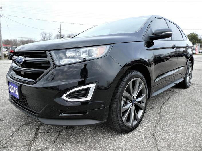 2018 Ford Edge Sport | Blind Spot Detection | Cooled Seats | Panoramic Roof Essex ON