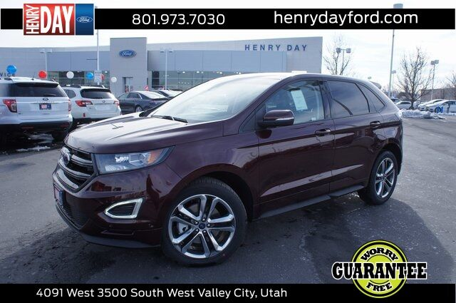 2018_Ford_Edge_Sport_ West Valley City UT