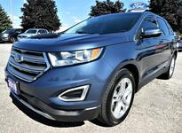 2018 Ford Edge Titanium | Cooled Seats | Blind Spot Detection | Navigation