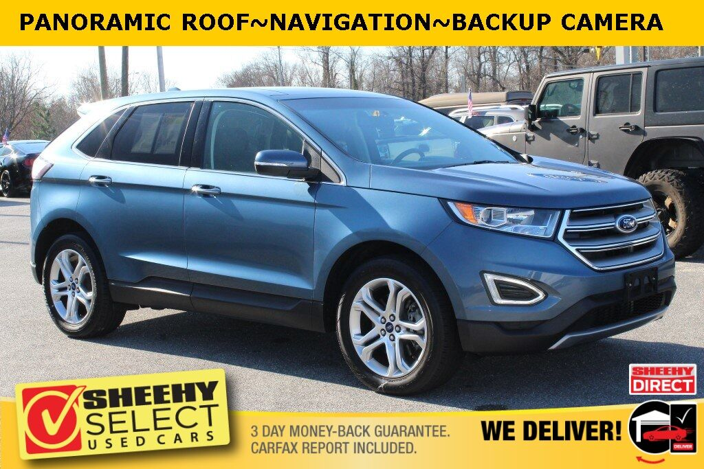 2018 Ford Edge Titanium Suitland MD