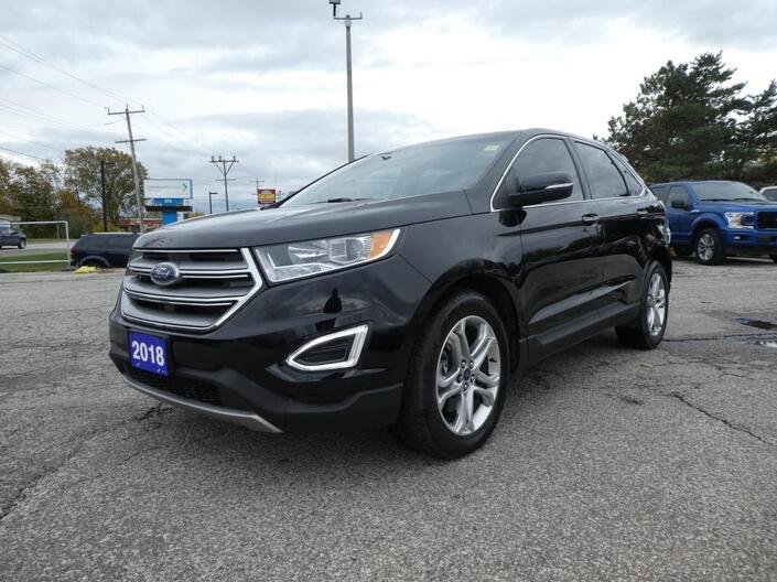 2018 Ford Edge Titanium Cooled Seats Navigation Remote Start Essex ON