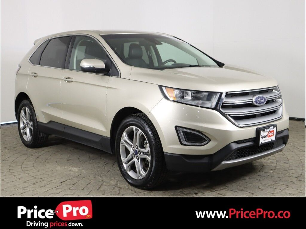 2018 Ford Edge Titanium Ecoboost w/Heated Leather/Adaptive Cruise Maumee OH