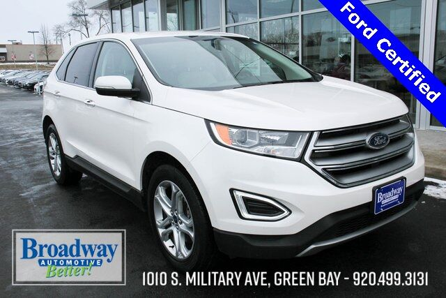 2018 Ford Edge Titanium Green Bay WI