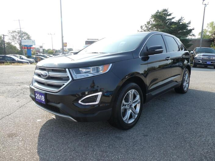 2018 Ford Edge Titanium Navigation Remote Start Panoramic Roof Essex ON