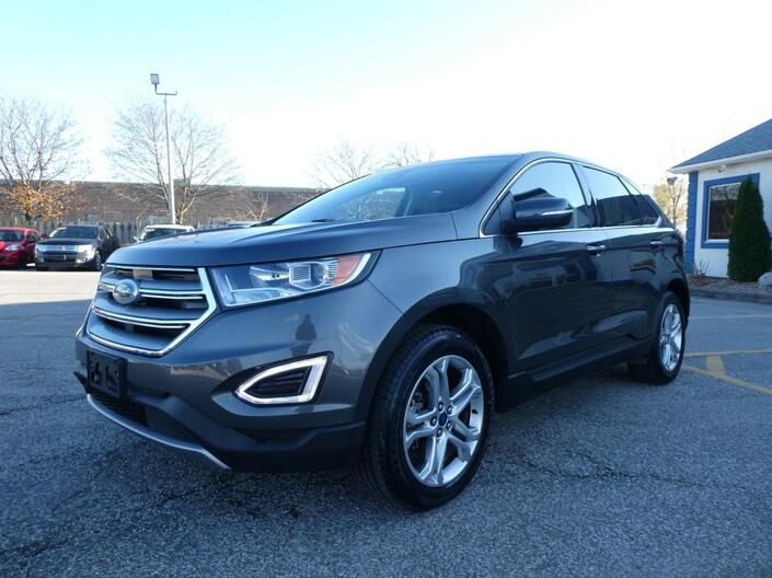2018 Ford Edge Titanium Panoramic Roof Navigation Remote Start Essex ON