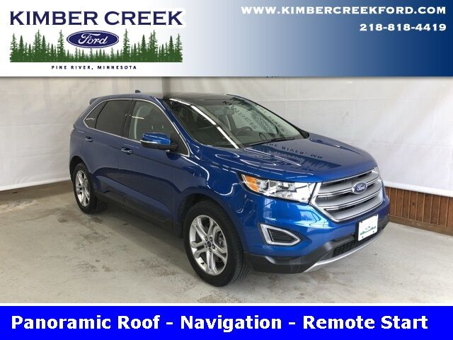 2018 Ford Edge Titanium Pine River MN