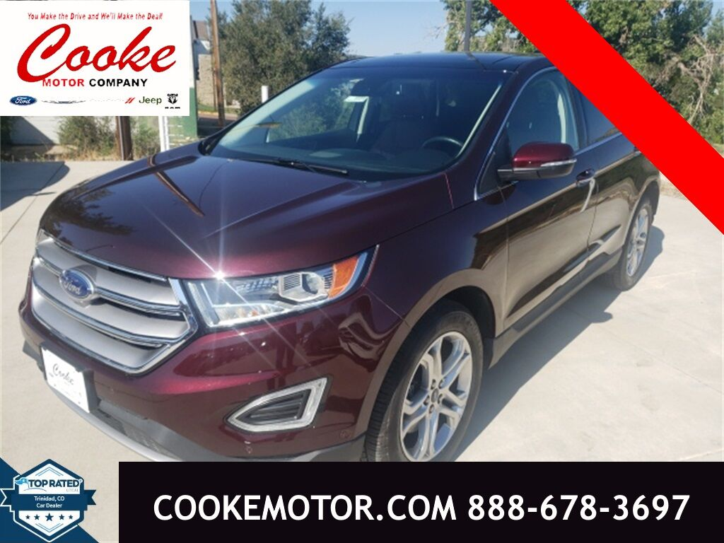 2018 Ford Edge Titanium Trinidad CO