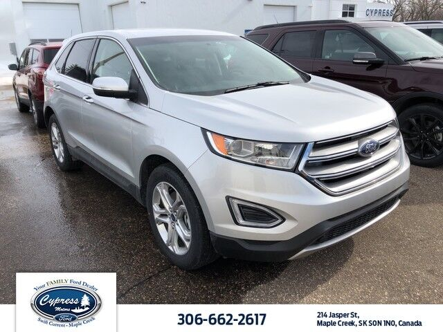 2018 Ford Edge Titanium,Heated Front & Rear Seats, Heated Steering Wheel,