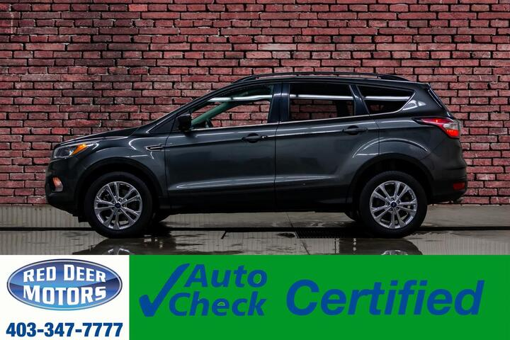 2018 Ford Escape AWD SE BCam Heated Seats Red Deer AB