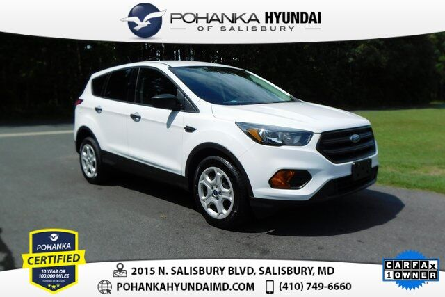 2018 Ford Escape S **ONE OWNER**PERFECT MATCH** Salisbury MD