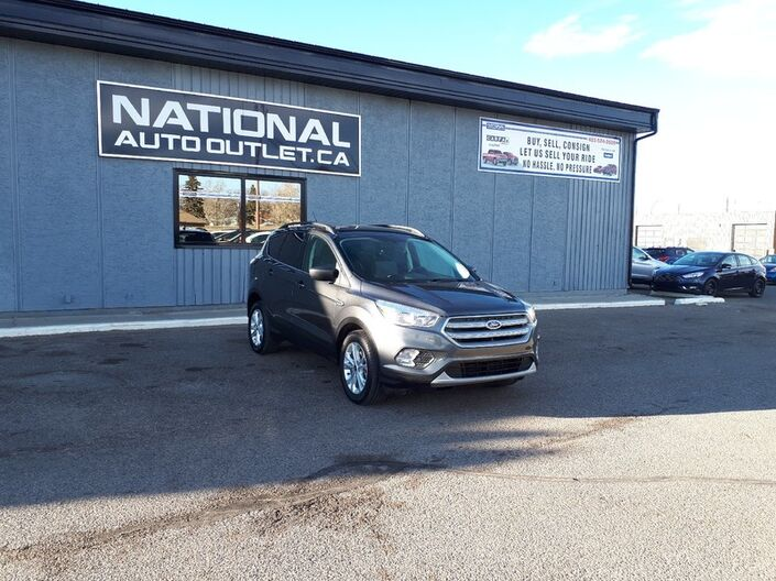 2018 Ford Escape SE - HEATED CLOTH SEATS, BACK UP CAMERA Lethbridge AB