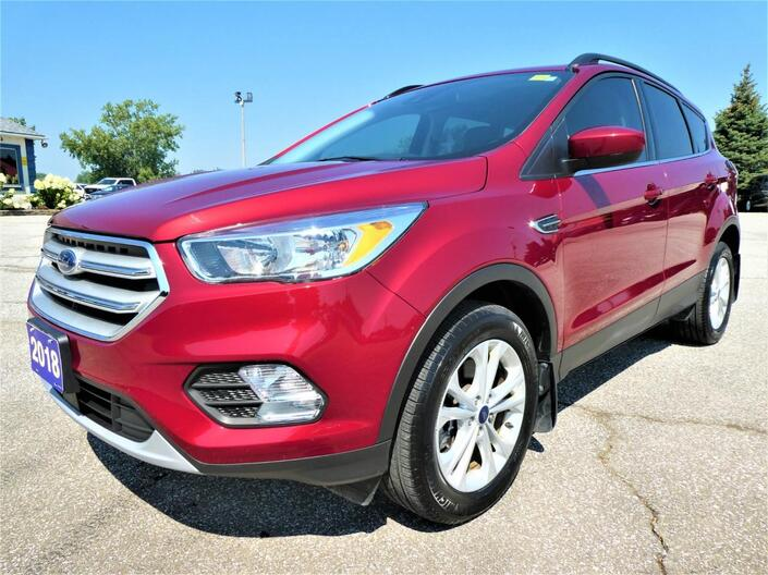2018 Ford Escape SE | Blind Spot Monitor | Adaptive Cruise | Navigation Essex ON
