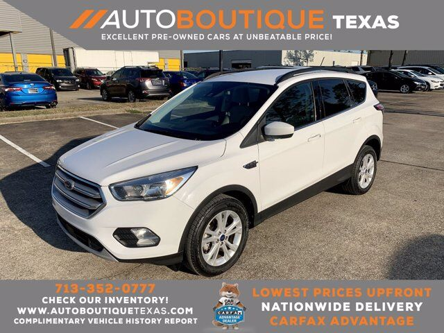 2018 Ford Escape SE Houston TX