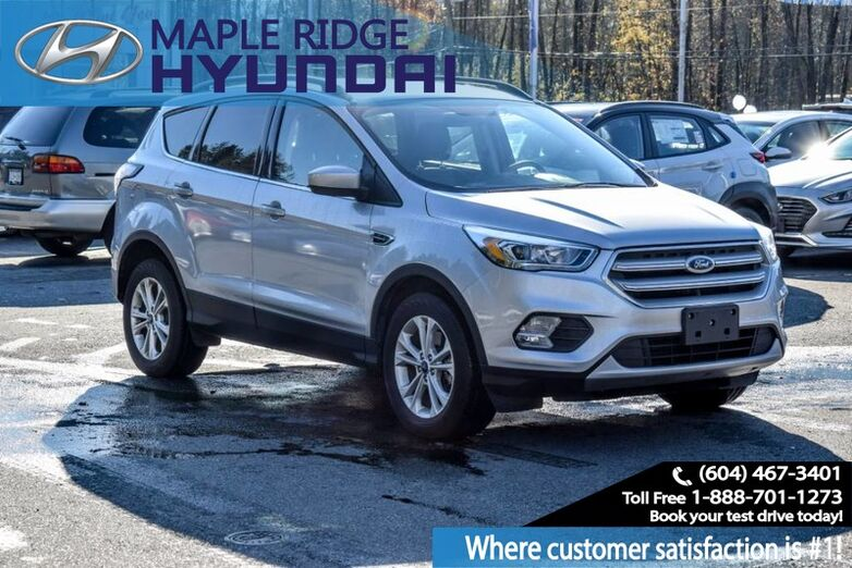 2018 Ford Escape SEL 4WD, Leather seating, Backup Camera, Panoramic Sunroof, Power Seat Maple Ridge BC