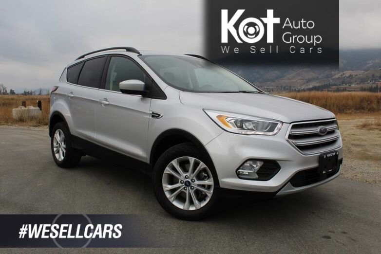 2018 Ford Escape SEL 4WD, NO ACCIDENTS, Leather, Navigation, Panoramic Sunroof Kelowna BC