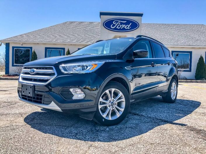 2018 Ford Escape SEL Leather Navigation Heated Seats Essex ON