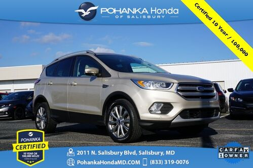 2018_Ford_Escape_Titanium 4WD ** Pohanka Certified 10 Year / 100,000  **_ Salisbury MD