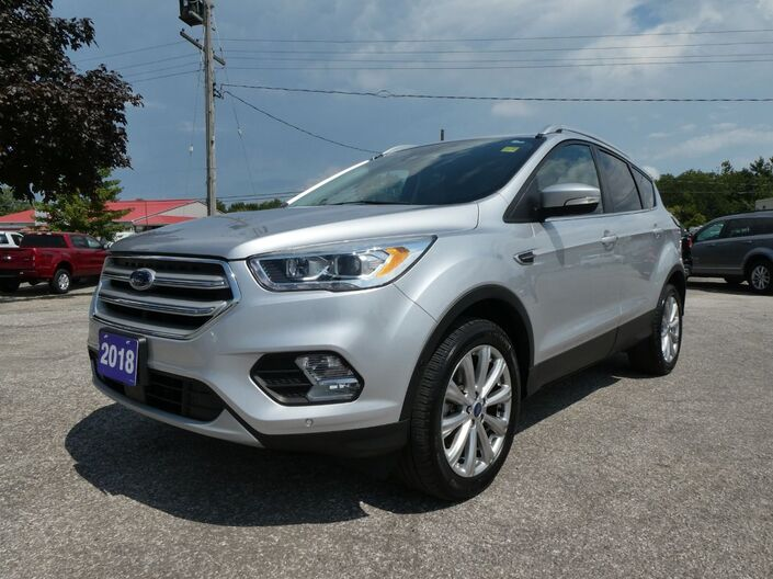 2018 Ford Escape Titanium Navigation Heated Seats Remote Start Essex ON