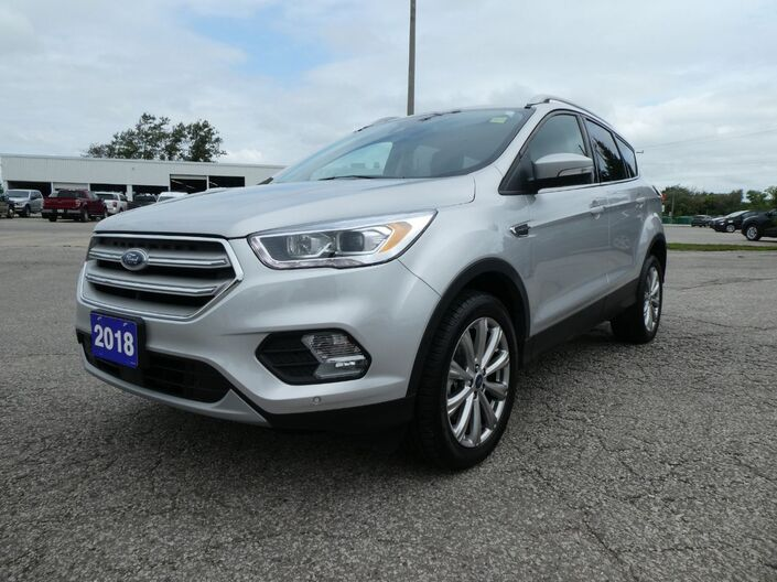 2018 Ford Escape Titanium Navigation Remote Start Heated Seats Essex ON