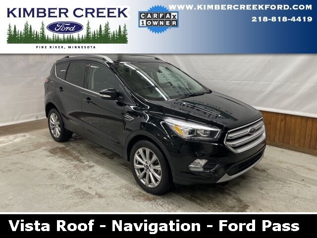 2018 Ford Escape Titanium Pine River MN