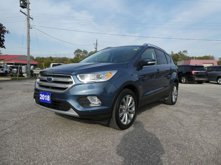 2018 Ford Escape Titanium Remote Start Navigation Power Lift Gate Essex ON
