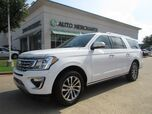 2018 Ford Expedition MAX Limited 2WD LEATHER, NAVIGATION, PANORAMIC SUNROOF, HTD/CLD FRONT STS, FR/RR CLIMATE CONTROL